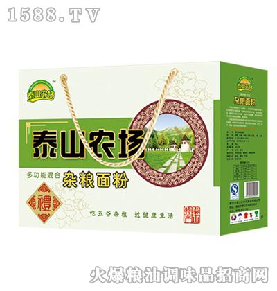 泰山农场多功能混合杂粮面粉2.5kg