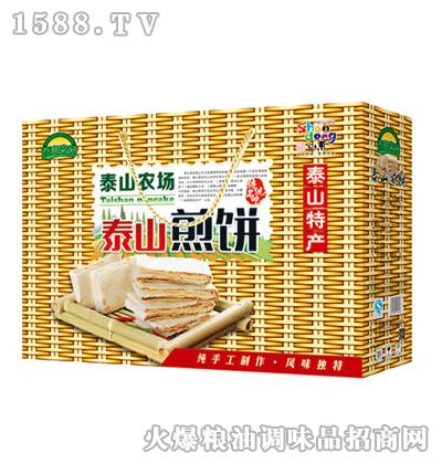 泰山农场泰山煎饼260gx6盒