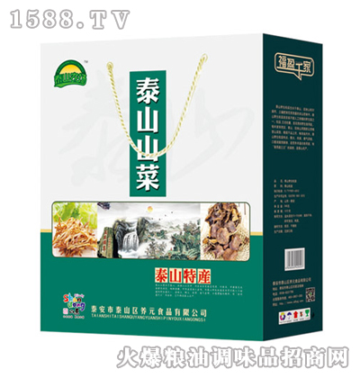 泰山农场泰山山菜600g