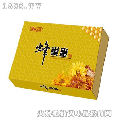 福盈千家泰山蜂巢蜜500gx2盒