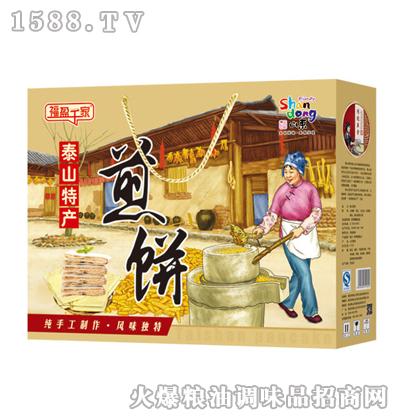 福盈千家泰山煎饼260gx6盒