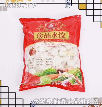 中雪珍品猪肉大葱水饺2.5kg