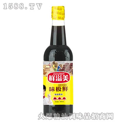 鲜溢美味极鲜特级酱油800ml