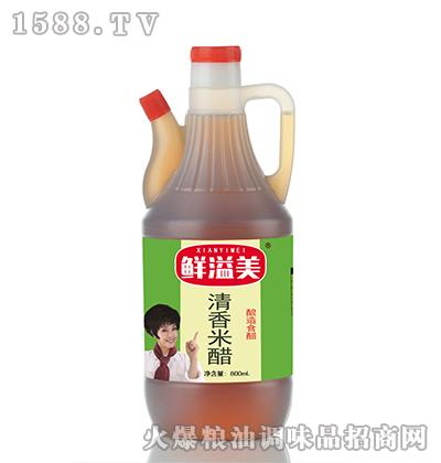 鲜溢美清香米醋800ml