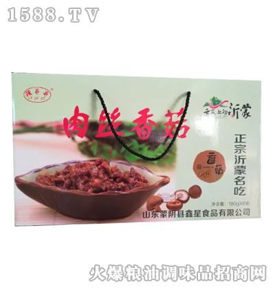 辣哥哥肉丝香菇酱180gX6瓶