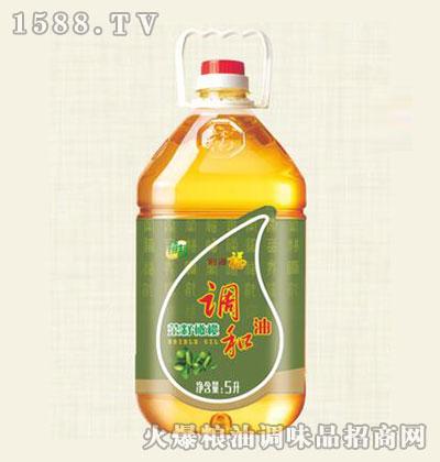 福美来精制菜籽橄榄调和油5L