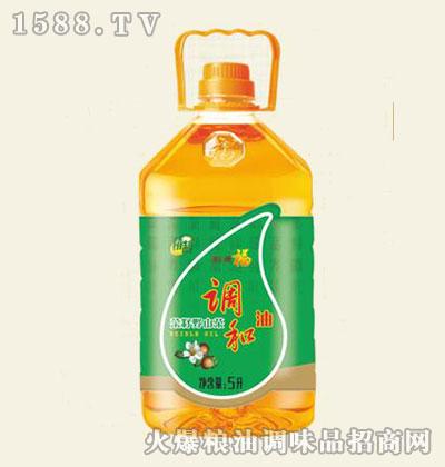 福美来精制菜籽野山茶调和油5L