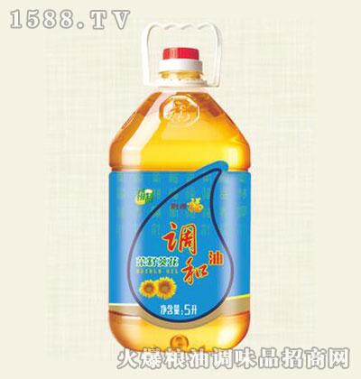 福美来精制菜籽葵花调和油5L