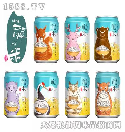 龙米小动物罐装