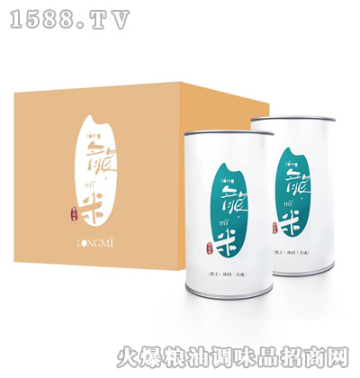 龙米稻花香五钻酒家特供大罐
