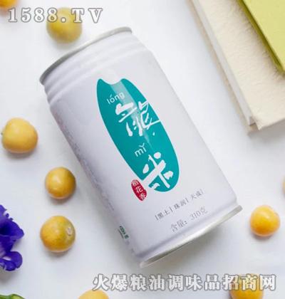 龙米稻花香米罐装