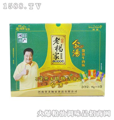 老杨家胡辣汤(金汤微辣牛肉味)95gx15袋