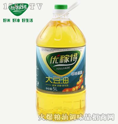 优稼得大豆油5L