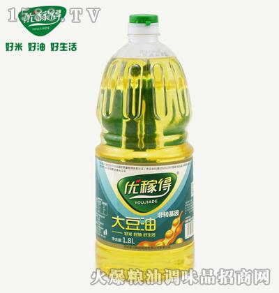 优稼得大豆油1.8L