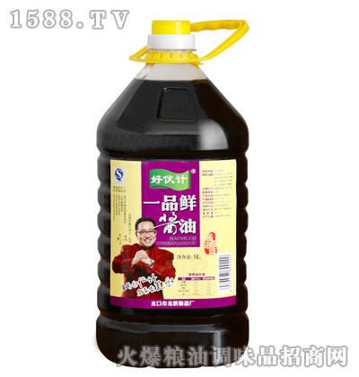 龙新源一品鲜酱油5L