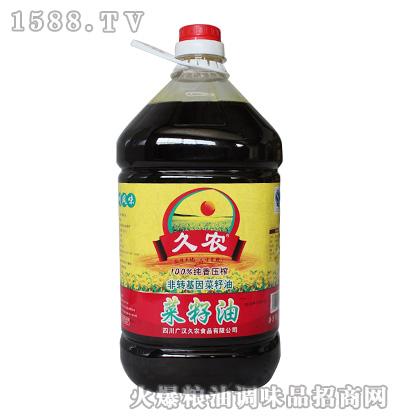 久农压榨菜籽油5L