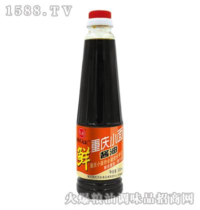 韩氏瓦缸重庆小面酱油500ml