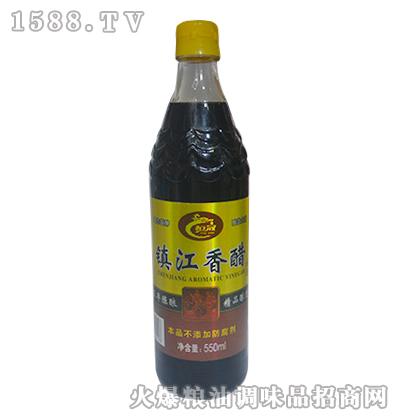 恒冠镇江香醋五年酿550ml
