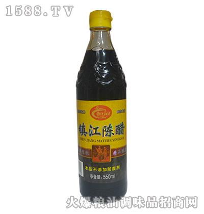 恒冠镇江陈醋550ml