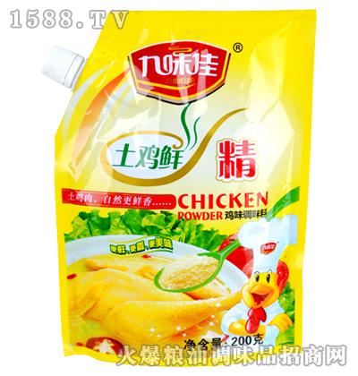 九味佳土鸡鲜精200克