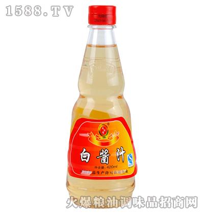 九味佳白酱汁液态调味料420ml