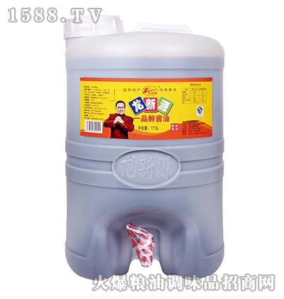龙新源一品鲜酱油17.5L