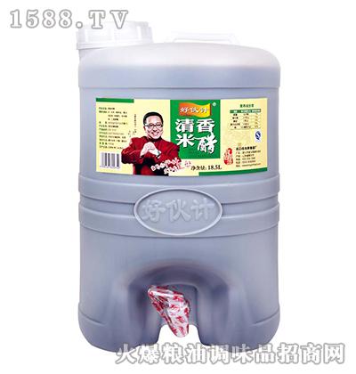 好伙计清香米醋(桶)18.5L