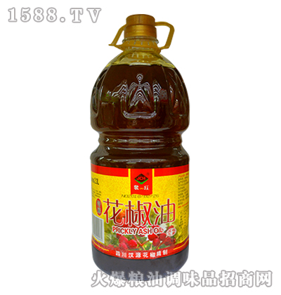 聚川红特麻花椒油2.3L