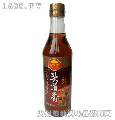 吉顺隆头道香芝麻香油450ML