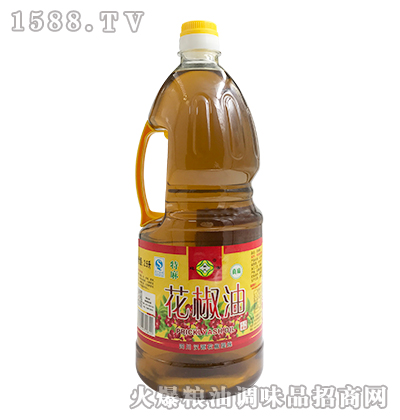 韩氏迎客花椒油2.5L