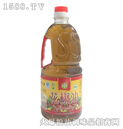 韩氏迎客花椒油1.8L