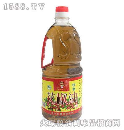 韩家小妞花椒油1.8L