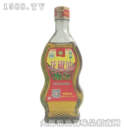 韩氏迎客花椒油400ml