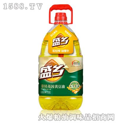 盛乡非转基因黄豆油5L
