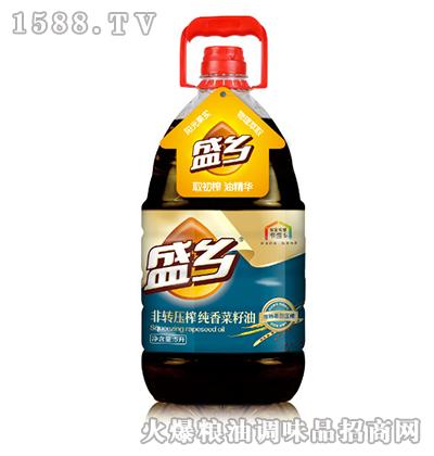 盛乡非转压榨纯香菜籽油5L