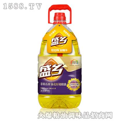 盛乡非转压榨葵花籽调和油5L