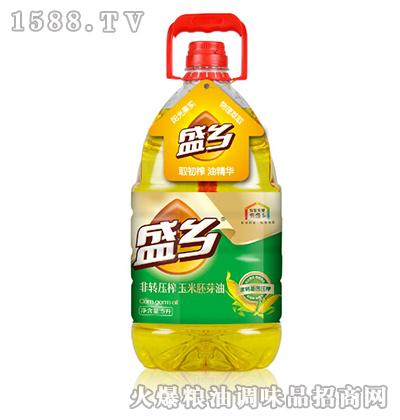 盛乡非转压榨玉米胚芽油5L