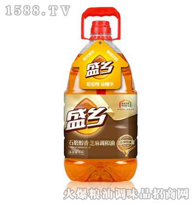 盛乡石磨醇香芝麻调和油5L