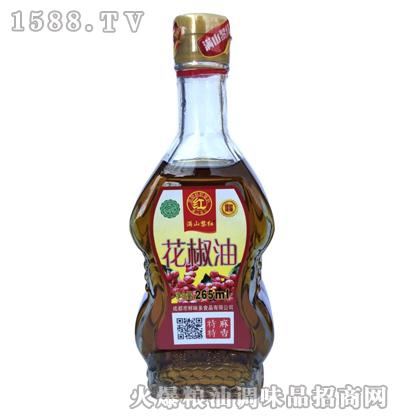 花椒油金装265ml-满山黎红