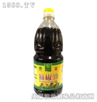 麻椒油金装1800ml-满山黎红