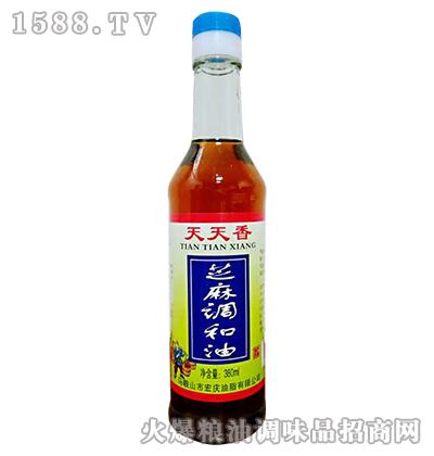 景贤天天香芝麻调和油380ml