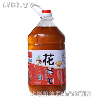 农头浓香花椒油5L(桶装)