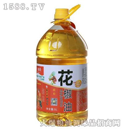 农头浓香花椒油5L