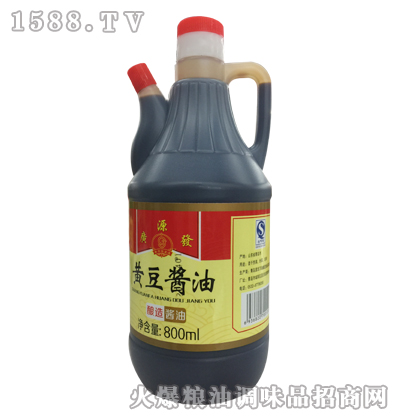 广源发黄豆酱油800ml