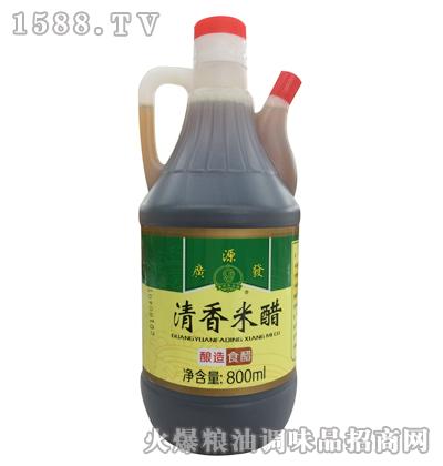 广源发清香米醋800ml