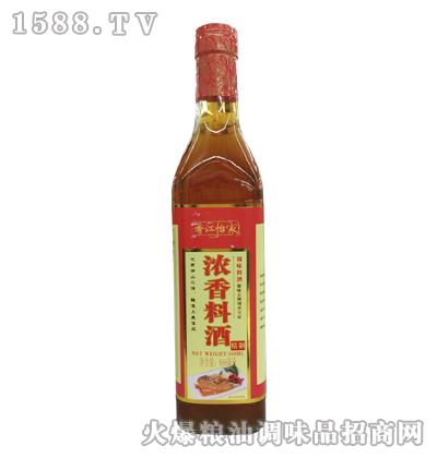 香江怡家浓香料酒500ml