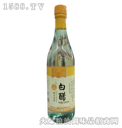广源发正宗白醋500ml