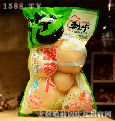 蓉上坊泡酸萝卜2kg