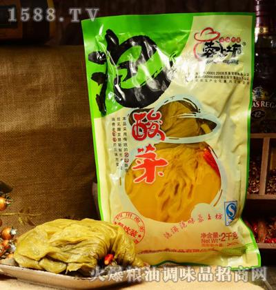蓉上坊泡酸菜2kg