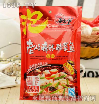 蓉上坊老坛麻辣酸菜鱼全料360g